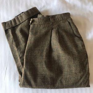 Vintage | Plaid Trousers